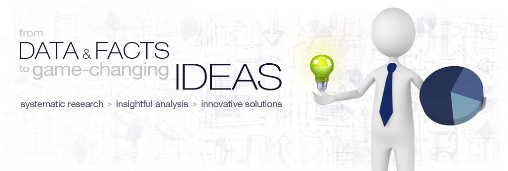 from research, analysis to innovative solutions